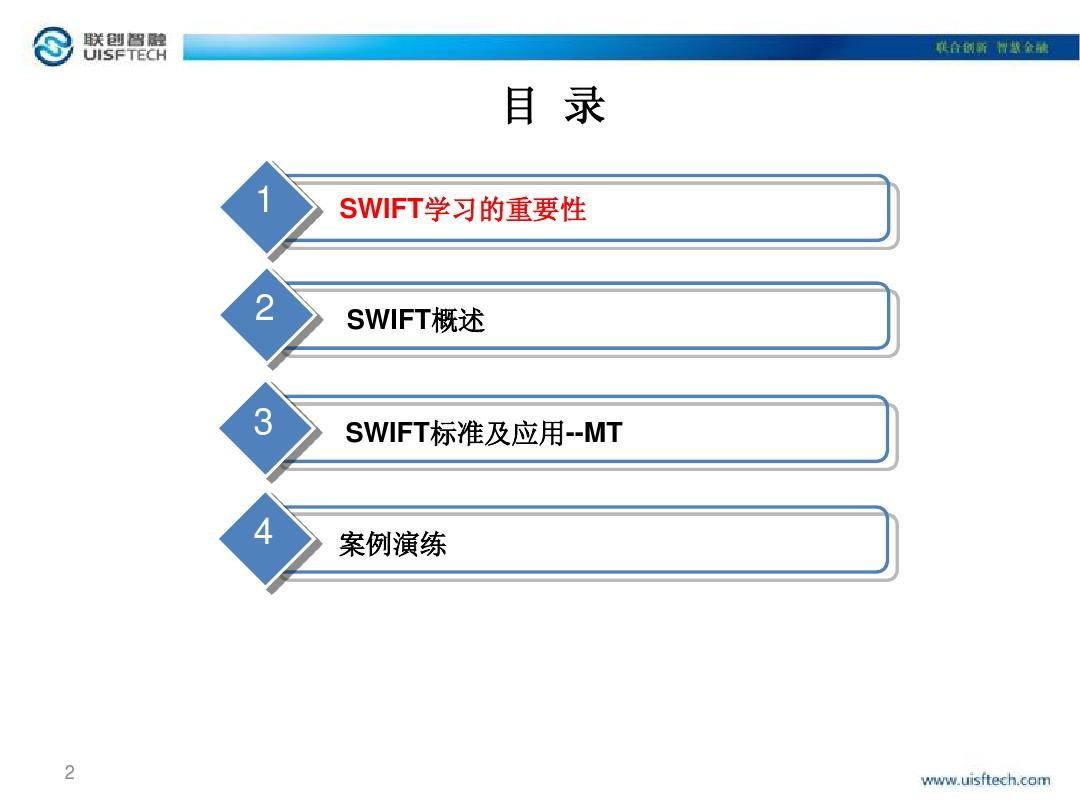 SWIFT应用培训_图文_百度文库