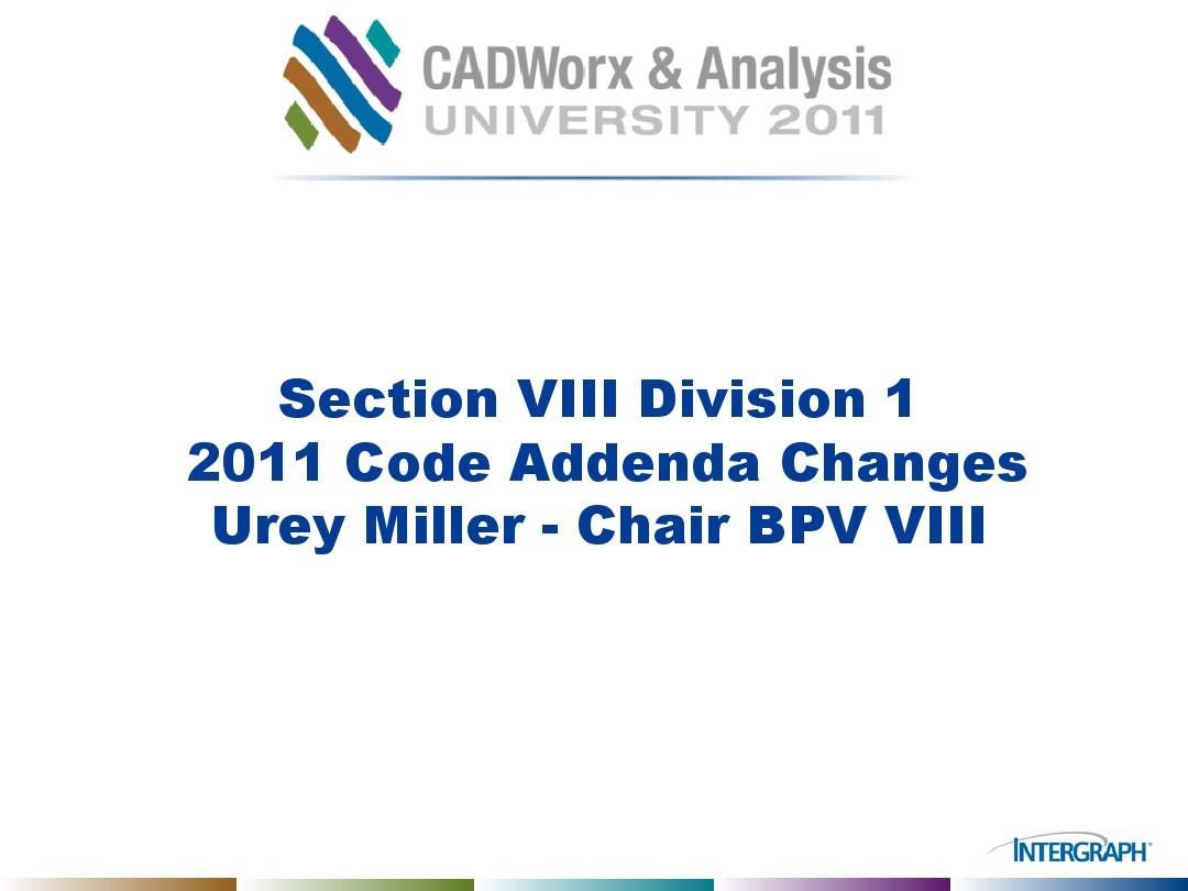 Section VIII Div 1 and 2 2011 Addenda_图文_百度文库