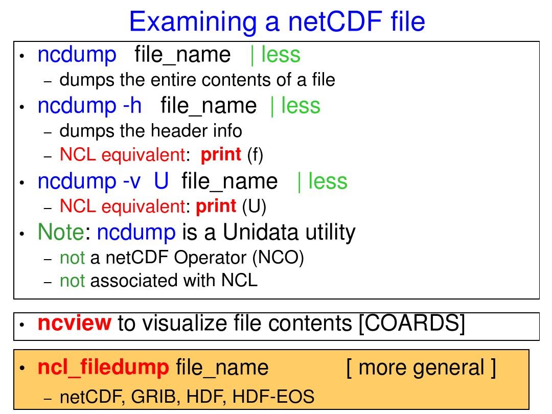 netCDF的使用介绍_图文_百度文库