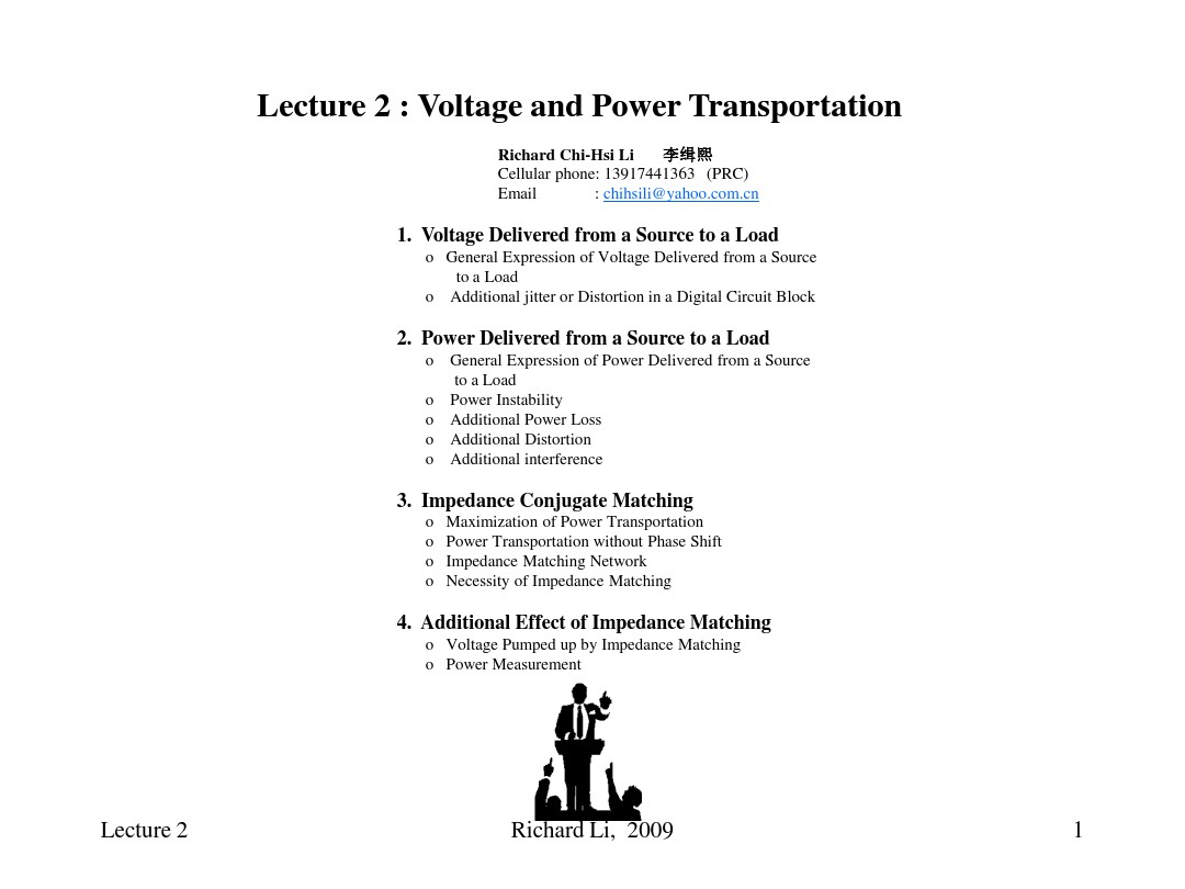 Lecture02_Voltage and power transportaion_图文_百度文库