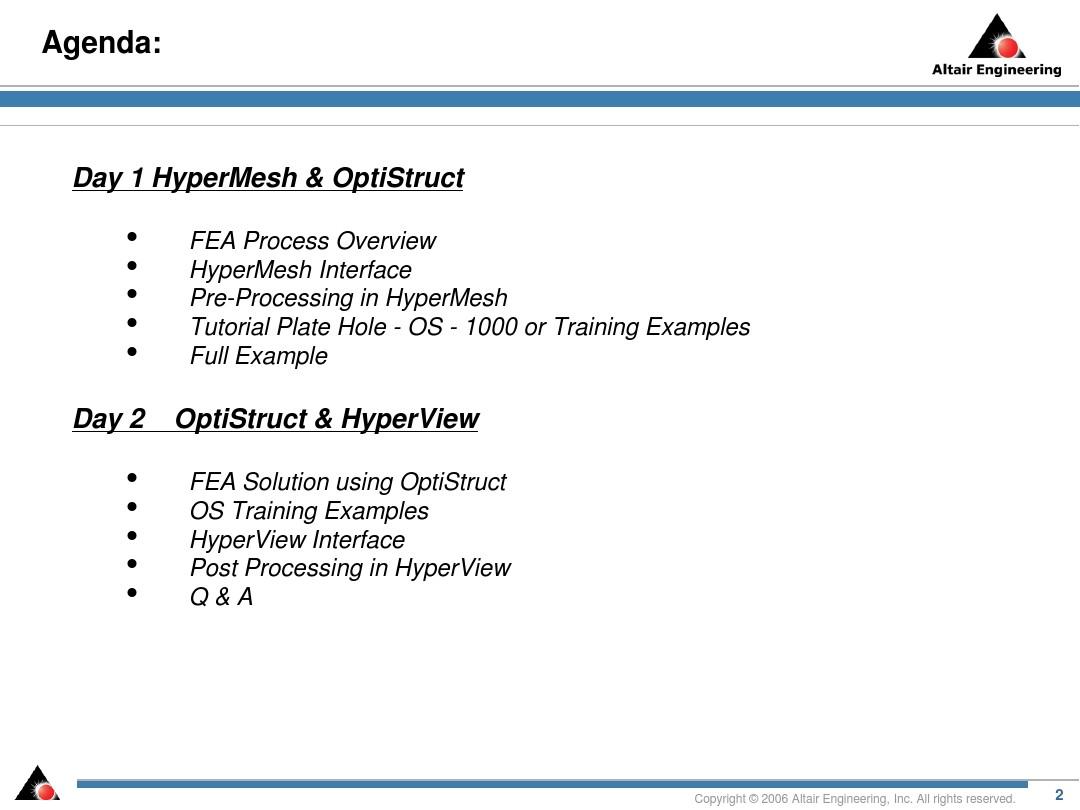 Altair_HyperWorks Basic Training_图文_百度文库