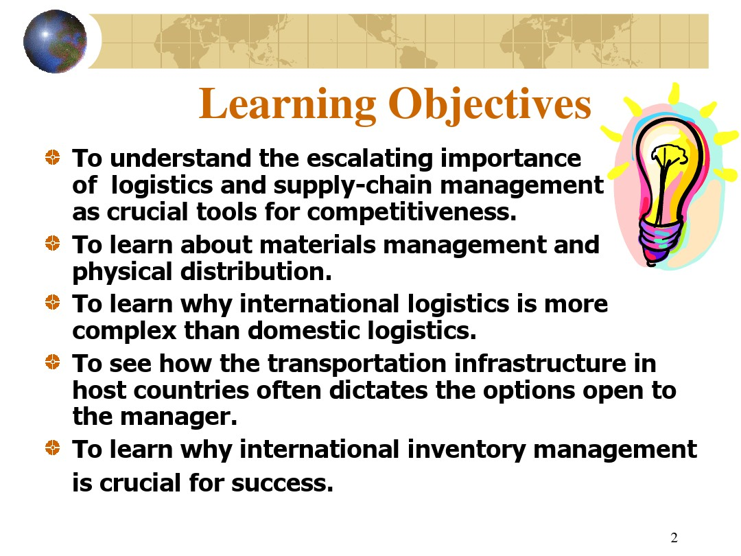 Chapter 16 Logistics and Supply-Chain Management_图文_百度文库