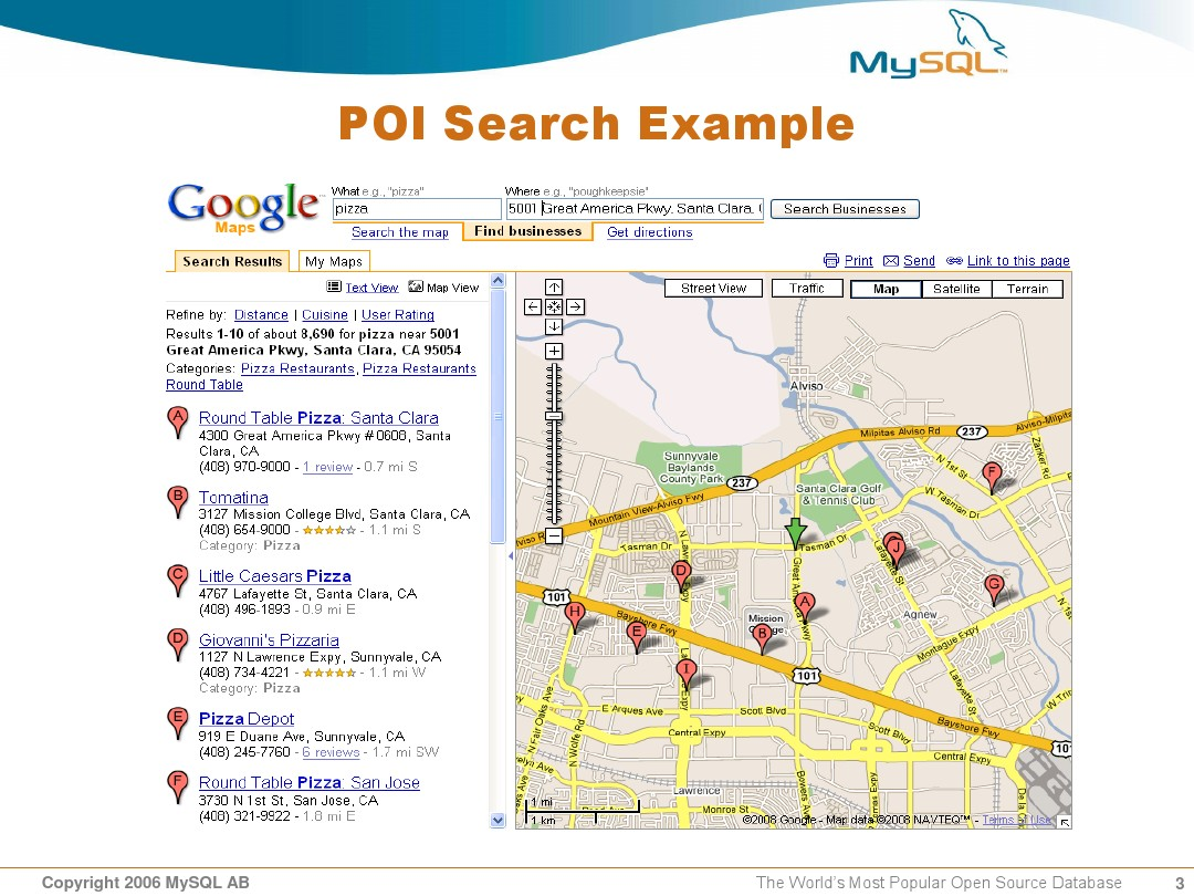 Geo Distance Search with MySQL Presentation_图文_百度文库