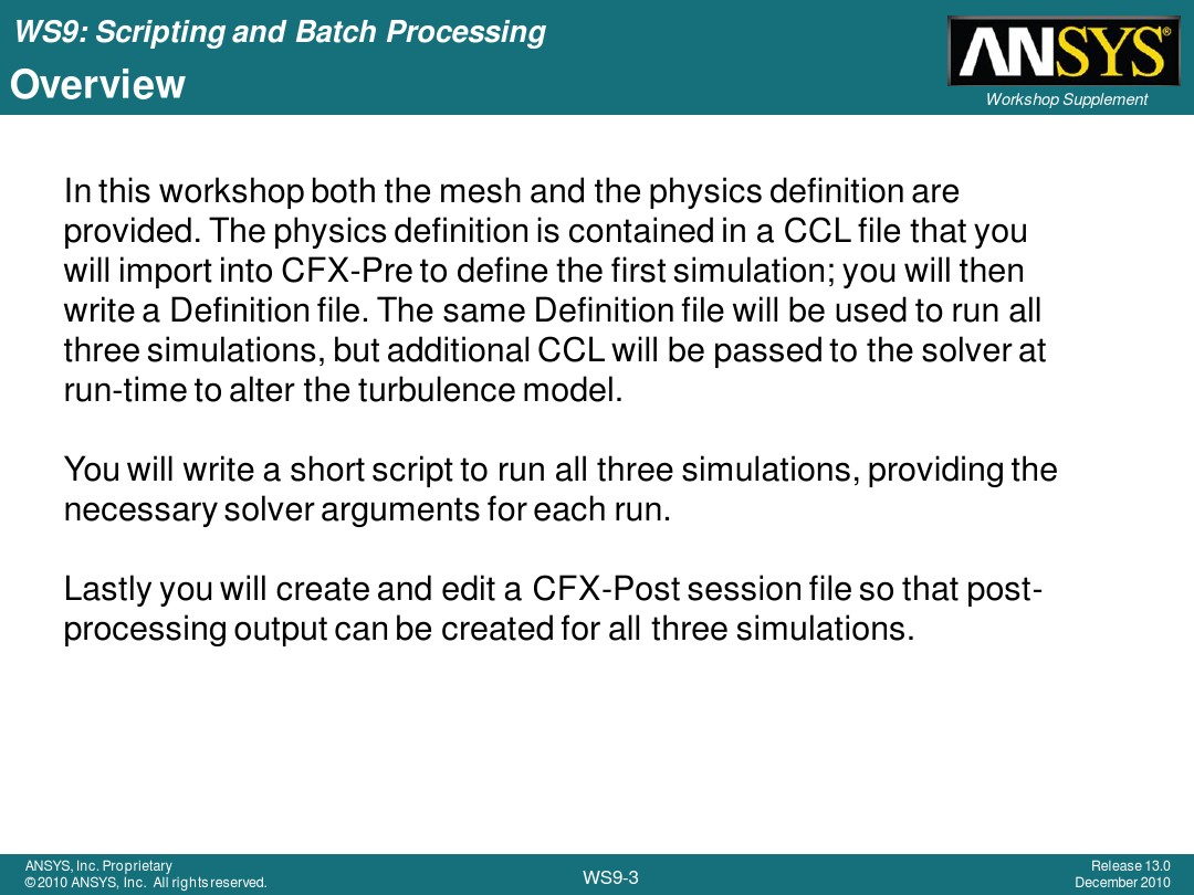 How To Run Ansys Script