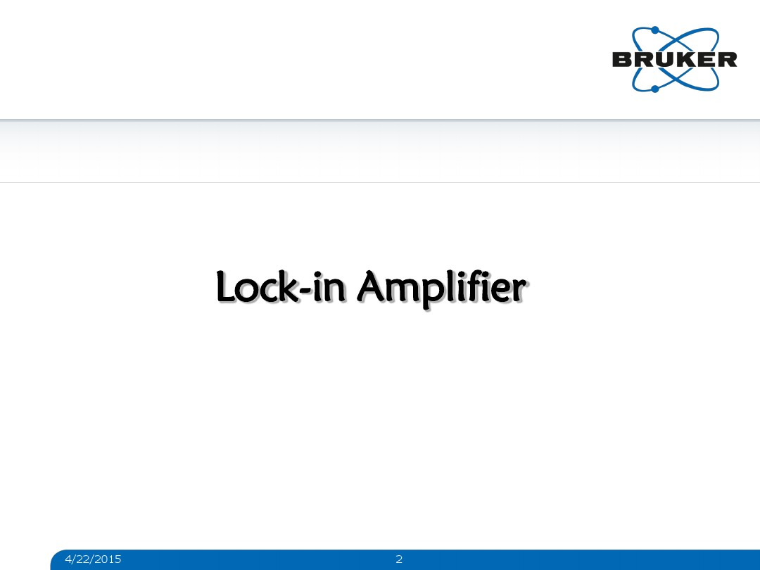 Day 2 Lock In Amplifier And Pfm Lockin Amplifiers Compact Modules