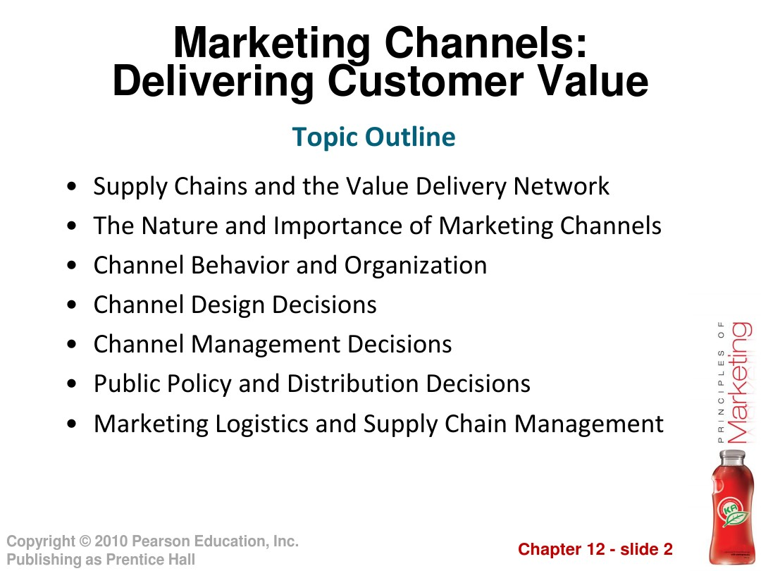 importance of marketing channels