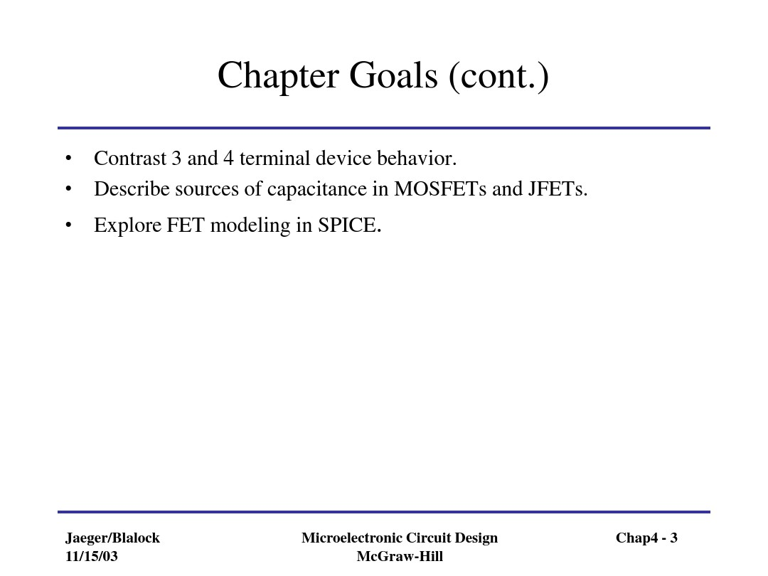 Chapter 4 Field-Effect Transistors_图文_百度文库