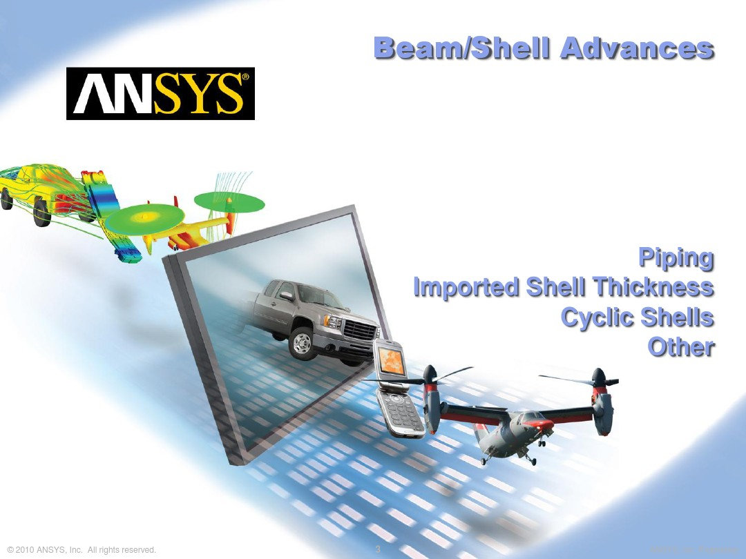 PPT13684-ANSYS 14 0 Preview 2 - ANSYS Mechanical Update_图文_百度文库