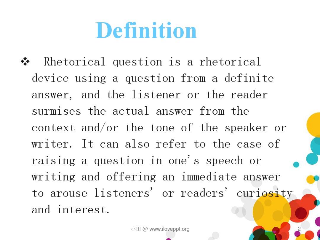 rhetorical question_图文_百度文库