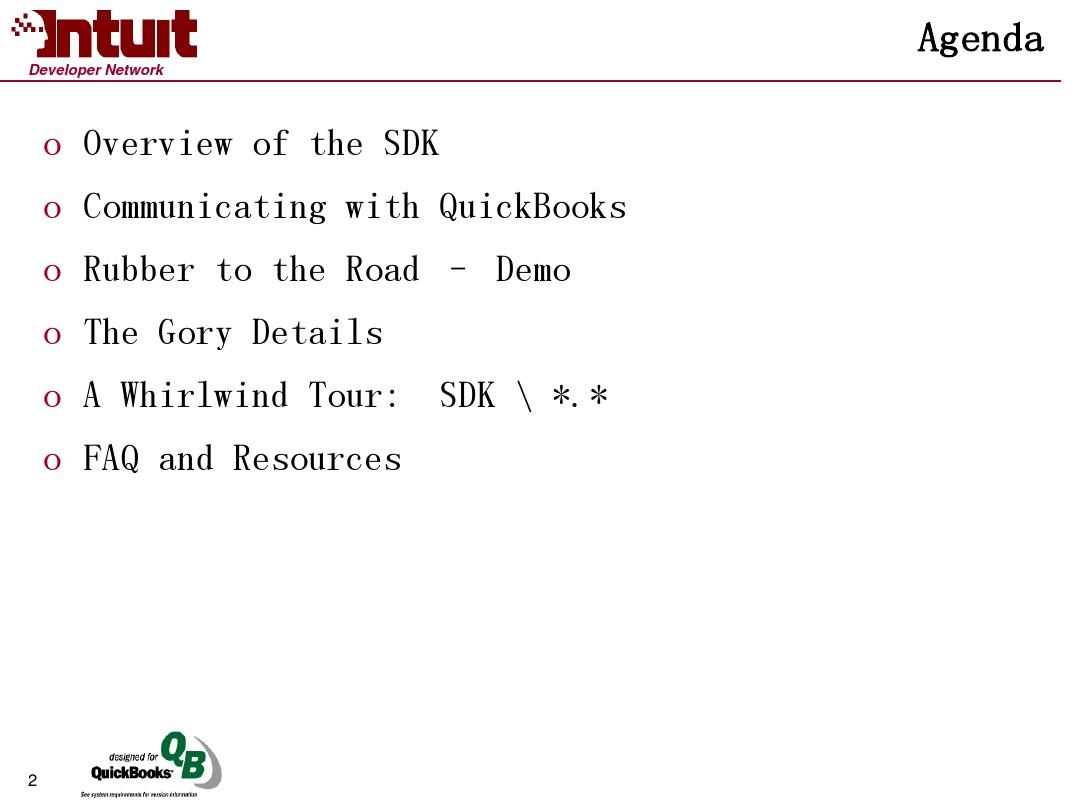 QuickBooks SDK Essentials_图文_百度文库