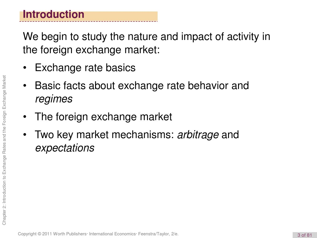 Exchange Rate And The Foreign