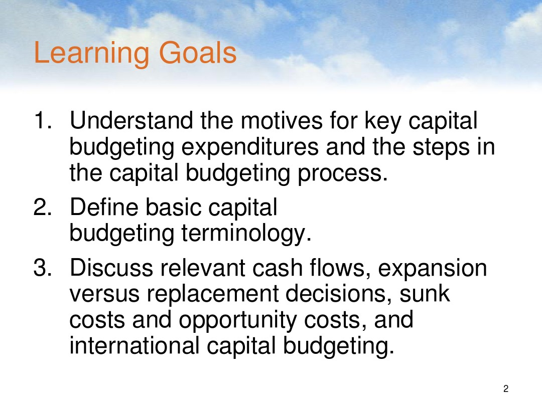 8,Capital Budgeting Cash Flow_图文_百度文库