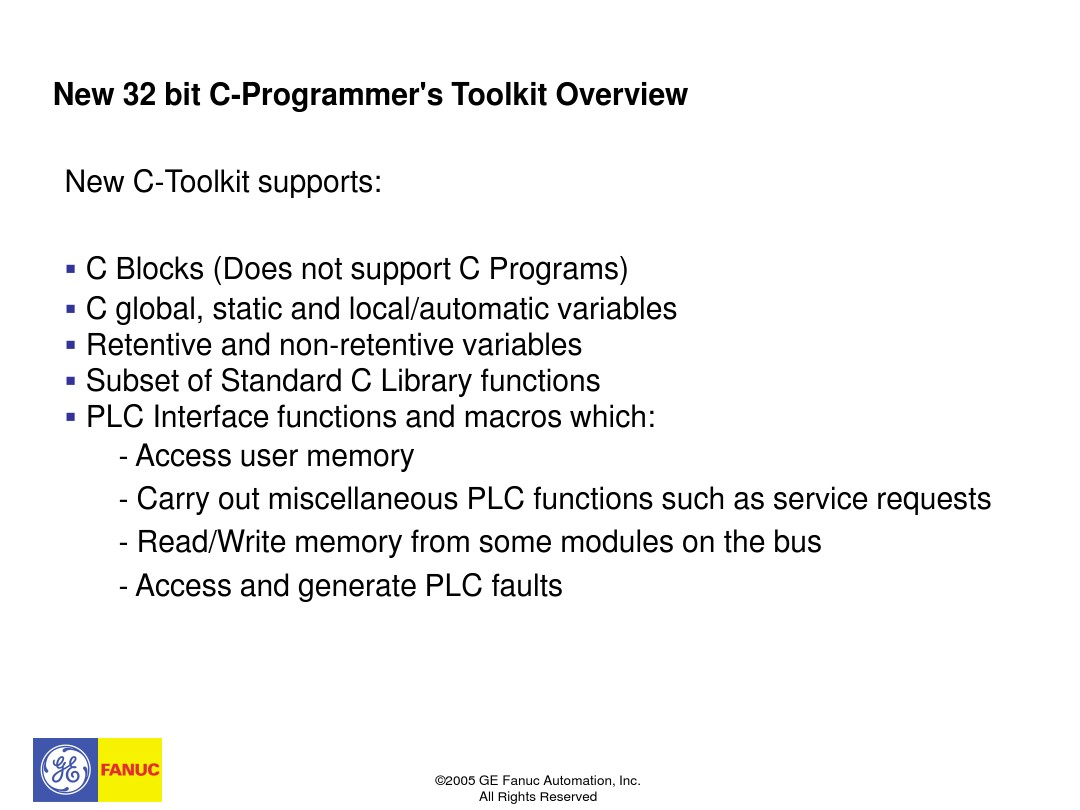 C Toolkit PACSystem Training_图文_百度文库