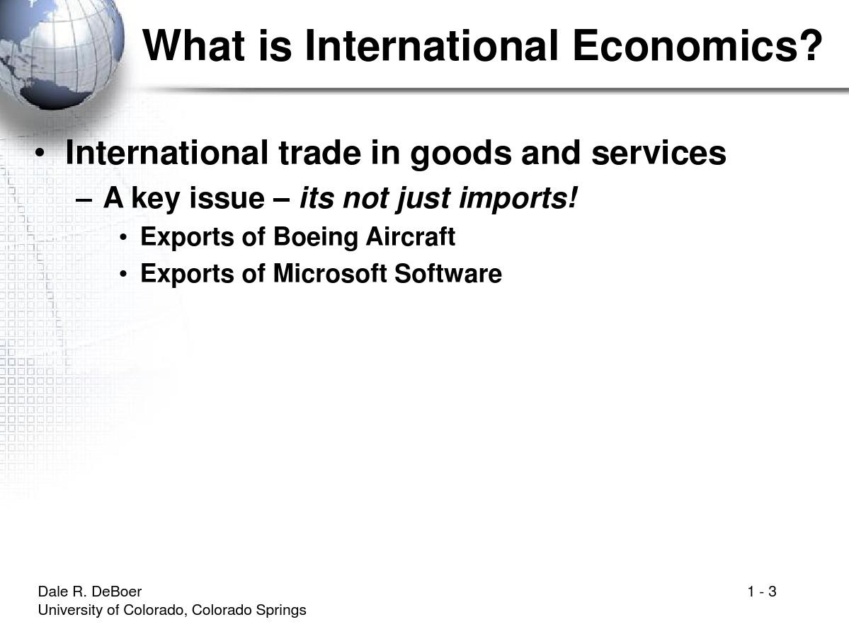萨尔瓦多的《国际经济学基础》PPT(Dominick Salvatore)_图文_