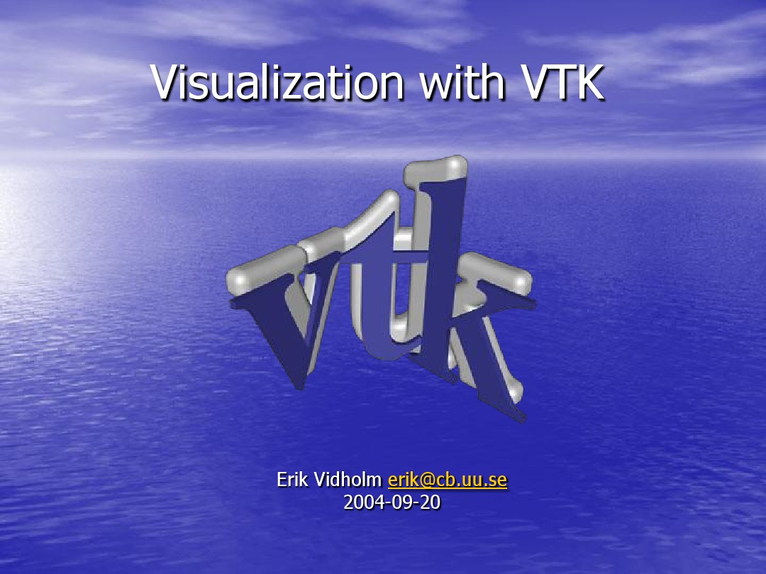 Visualization with VTK_图文_百度文库