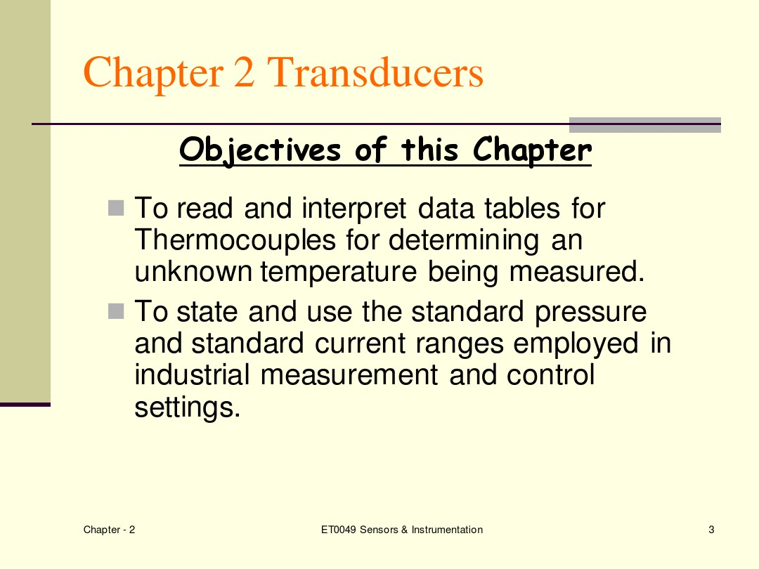 Sensors and Instrumentations Chapter_2a_图文_百度文库