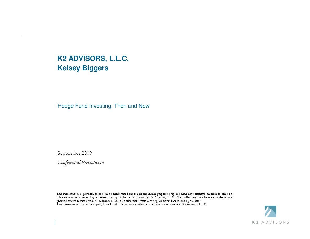 k2 advisors madoff