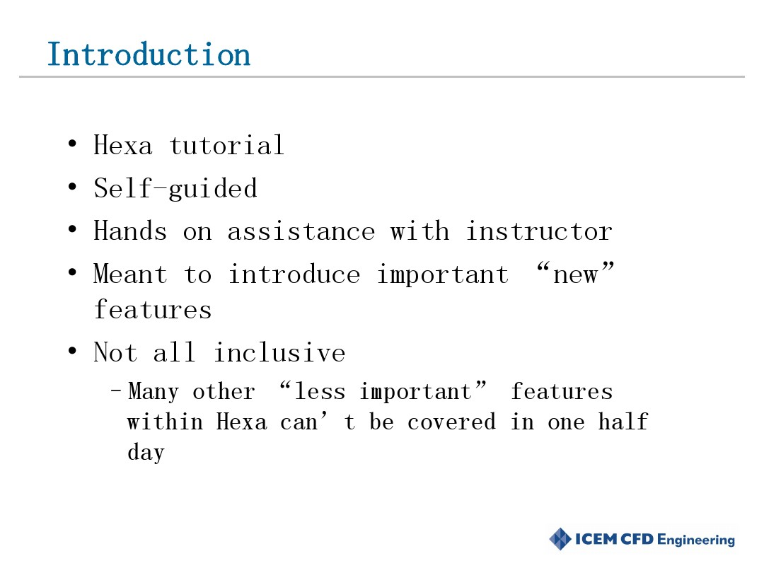 ICEM-CFD Advanced Hexa Features_图文_百度文库