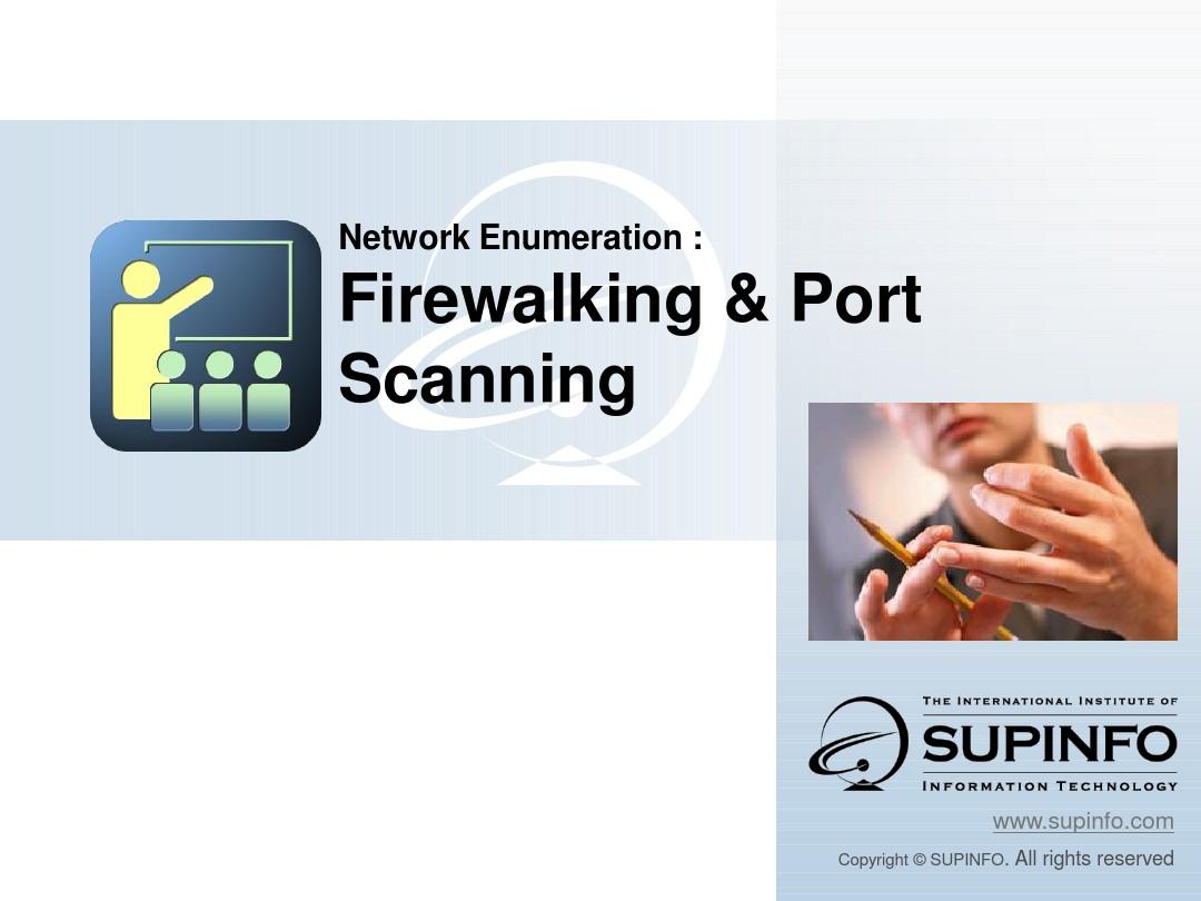 12 - EN - CK - Firewalking-And-Port-Scanning_百度文库