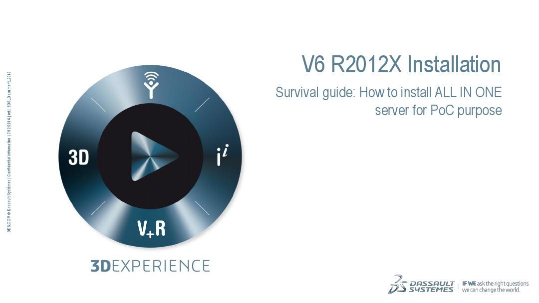 02 Basic Demo V6 R2012X Installation_图文_百度文库