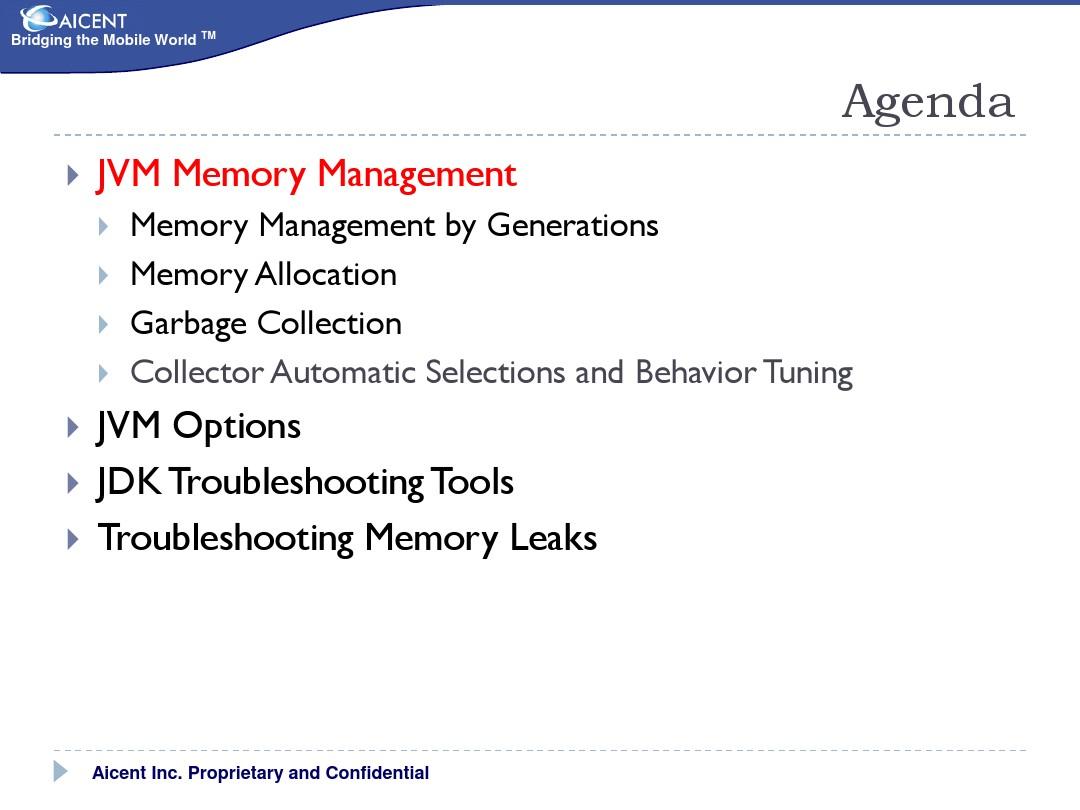 JVM Memory Manager & JDK Debug Tools_图文_百度文库