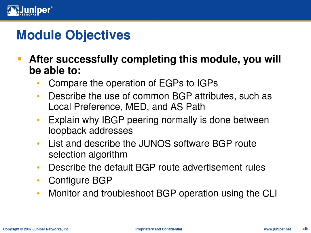 JunOS Training 8 BGP_图文_百度文库
