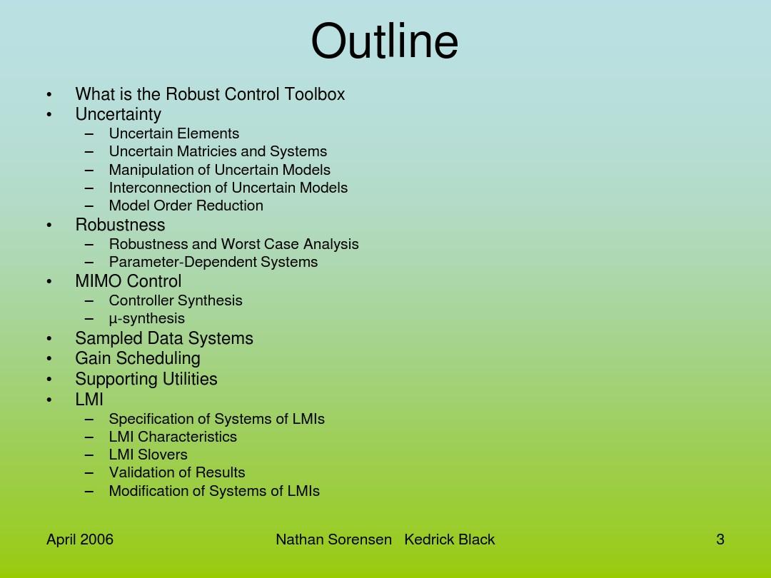 Matlab Robust Control Toolbox_图文_百度文库
